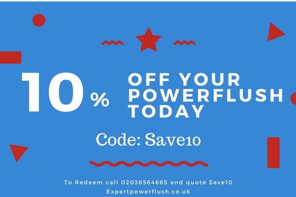 coupon code power flush